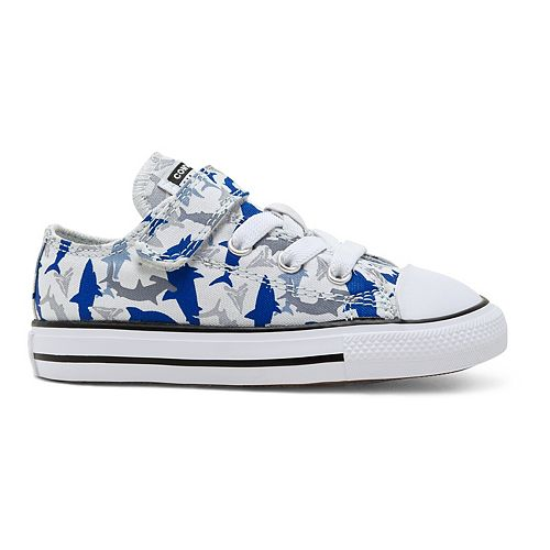 Toddler Boys' Converse Chuck Taylor All Star 1V Shark Bite Sneakers