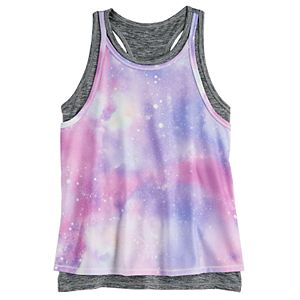 Girls 4-20 SO® Double Layer Tank