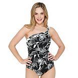 Women's Apt. 9® One Shoulder One-Piece Swimsuit