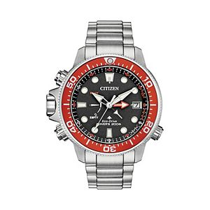 Citizen Eco-Drive Men's Promaster Aqualand Stainless Steel Dive Watch - BN2039-59E