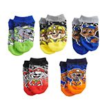 Boys 8-20 Paw Patrol 5-Pack Good Pups Socks
