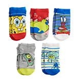 Boys 8-20 SpongeBob SquarePants 5-Pack Bubble Boys Socks