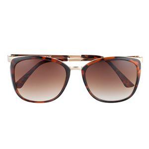 Women's Dana Buchman 55mm Combination Square Sunglasses