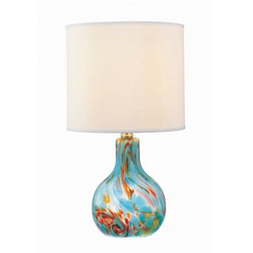 Pepita Glass Table Lamp