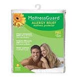 Fresh Ideas Mattress Guard Allergy Relief Zippered Mattress Protector