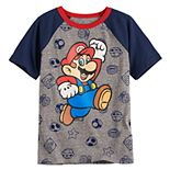 Boys 4-12 SONOMA Goods for Life® Super Mario Bros. Raglan Tee