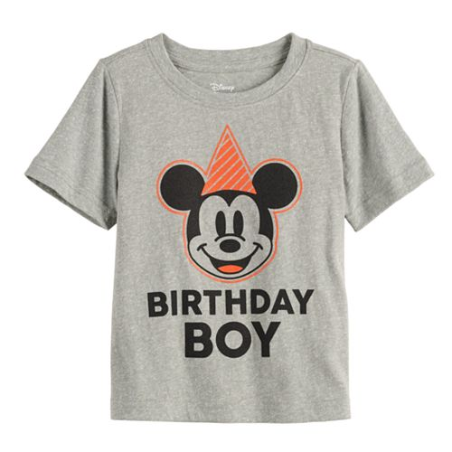 """Disney's Mickey Mouse Toddler Boy """"Birthday Boy!"""" Graphic Tee by Jumping Beans®"""