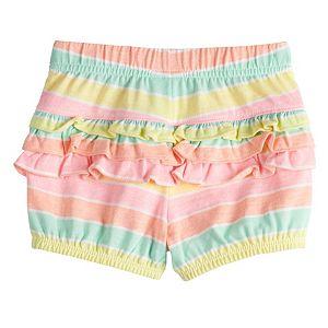 Baby Girl Jumping Beans® Ruffle Bubble Shorts
