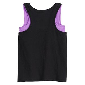 Girls 4-12 Jumping Beans® Mock-Layer Tank Top