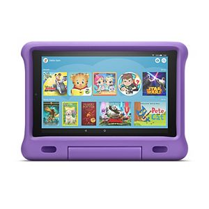 Amazon All-New Fire HD 10 Kids Edition 32GB with Purple Kid-Proof Case