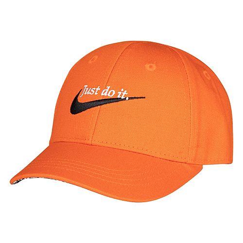 Toddler Nike Adjustable Just Do It Orange Snapback Hat