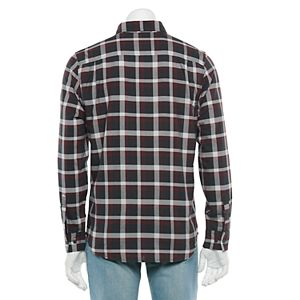 Men's Vans Marken Plaid Button-Down Shirt