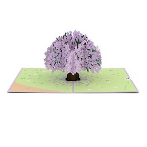 "Lovepop ""Jacaranda"" Tree Greeting Card"