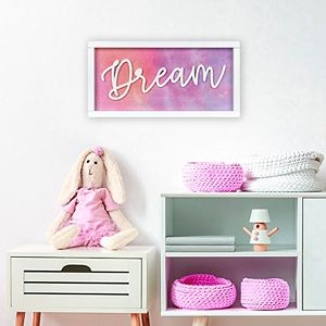 "New View Gifts & Accessories ""Dream"" Rev Box Wall Art"