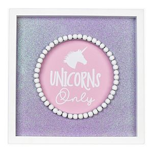 "New View Gifts & Accessories ""Unicorns Only"" Wall Art"