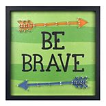 "New View Gifts & Accessories ""Be Brave"" Rev Box Wall Art"