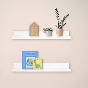 New View Gifts & Accessories 2-pk Ledge Wall Shelf