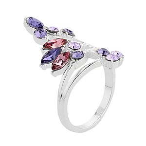 Brilliance Crystal Cluster Ring with Swarovski Crystals