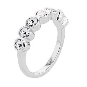 Brilliance Round Ring with Swarovski Crystal