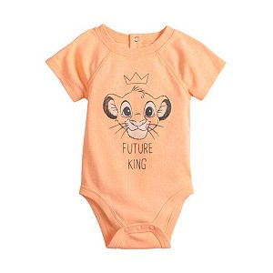 Disney's The Lion King Simba Baby Boy Bodysuit by Jumping Beans®