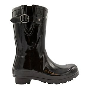 London Fog Tally Women's Waterproof Rain Boots