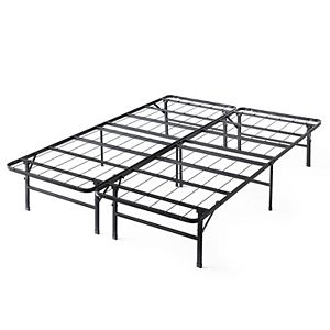 Lucid Dream Collection 10-in. Medium Memory Foam Mattress with Platform Bed Frame Twin XL
