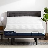 Lucid Dream Collection 10-in. Gel and Aloe Vera Hybrid Mattress with Elevate Adjustable Bed Base