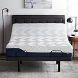 Lucid Dream Collection 12-in. Gel and Aloe Vera Hybrid Mattress with Elevate Adjustable Bed Base
