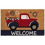 Mohawk Home Patriotic Truck Doormat