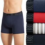 Men's Jockey® ActiveBlend® 4-Pack Boxer Briefs