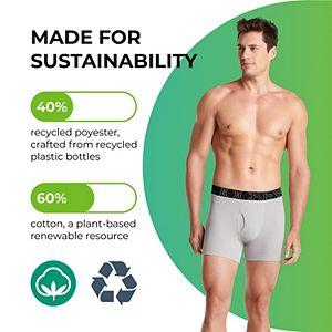 Men's Jockey® 4-pack ActiveBlend® Long-leg Boxer Briefs