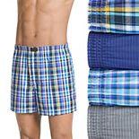 Men's Jockey® 4-pack ActiveBlend? Boxers