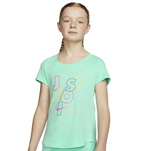 """Girls 7-16 Nike Abstract """"Just Do It"""" Graphic Tee"""