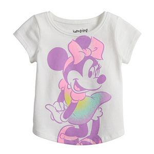 Disney's Minnie Mouse Baby Girl Shirttail Tee by Jumping Beans®