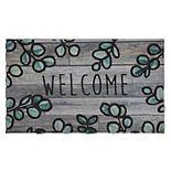 Mohawk Home Eucalyptus Branch Border Doormat