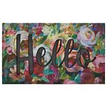 Mohawk Home Hello In The Garden Doormat