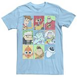 Men's Disney / Pixar Epic Boxed Up Line Up Character Tee