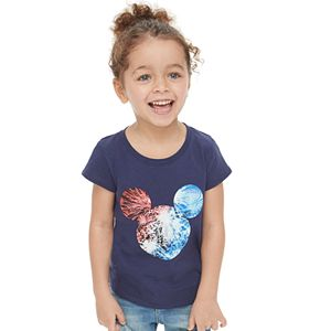 Disney's Mickey Mouse Toddler Girl Fireworks Graphic Tee by Family Fun