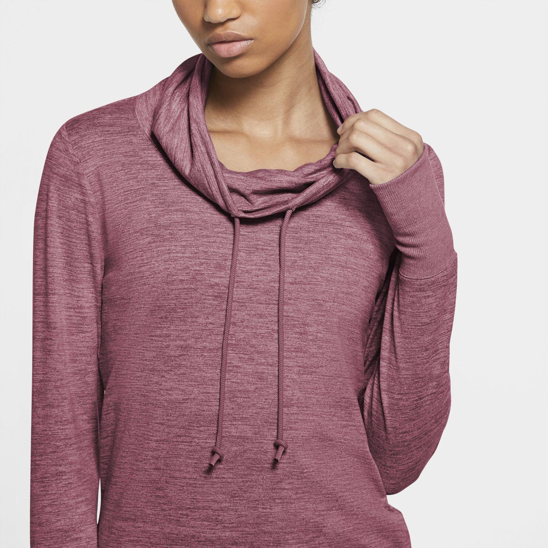Women's Nike Cowlneck Yoga Top