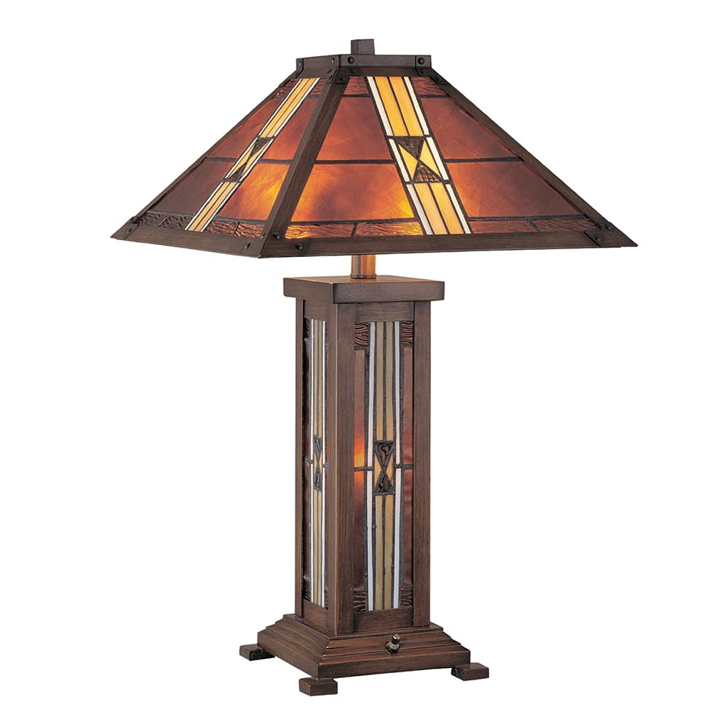 Farah Stained-Glass Table Lamp