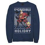 Men's Disney/Pixar Incredibles Holiday Portrait Sweatshirt