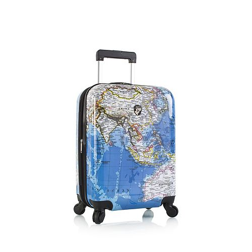Heys Explore Maps Hardside Spinner Luggage