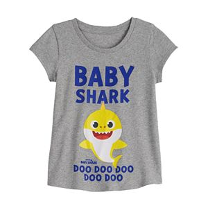 Toddler Girl Family Fun? Baby Shark Family Graphic Tee