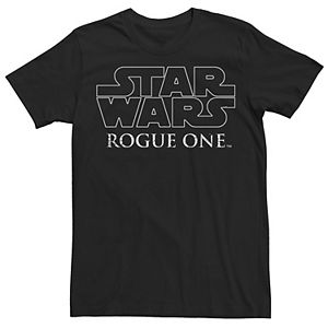 New Men/'s Star Wars Rogue One Galactic Evil Empire Rebels Graphic Black Shirt