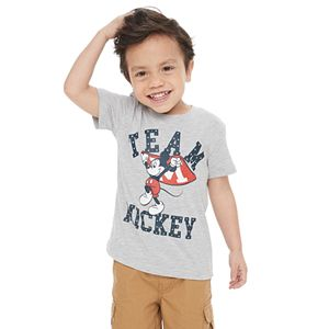 """Disney's Mickey Mouse Toddler Boy """"Team Mickey"""" Graphic Tee by Family Fun"""