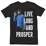 Men's Star Trek Original Series Spock Live Long Tee