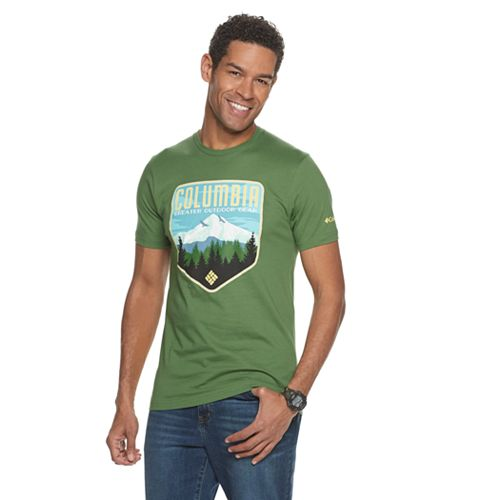 Men's Columbia Modern-Fit Mountain Graphic Tee