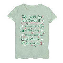Toddler Girls Trolls LA-LA-LA-LA Christmas Shirt