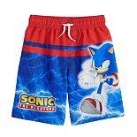 Boys 4-7 Sonic the Hedgehog Swim Trunks