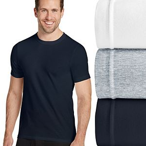 Men's Jockey Stretch 3-pack Crewneck Tees
